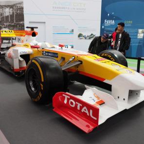 現地直送F1サーキット便り 第3戦中国GP編:そのマシン、どこで見つけてきたの?